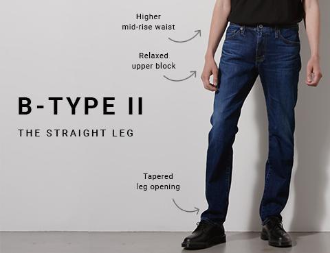 Shop B-Type II Straight Leg  Jeans on Big Star Denim