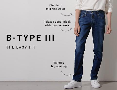 Shop B-Type III Easy Fit Jeans on Big Star Denim