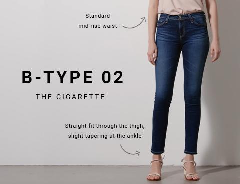 Shop B-Type 02 Womens Cigarette on Big Star Denim