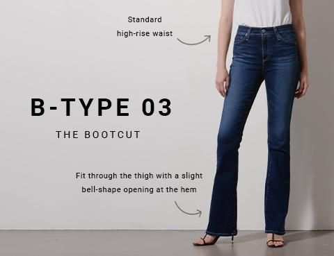 Shop B-Type 03 Womens Bootcut Jeans on Big Star Denim