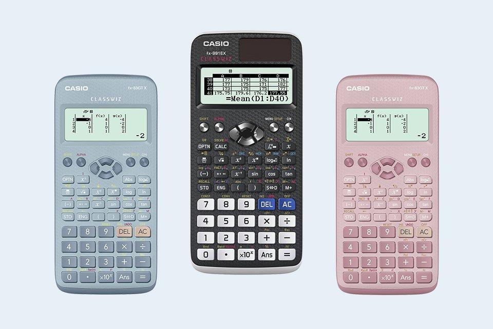 Calculators.