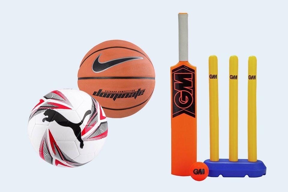 Sports equipment.