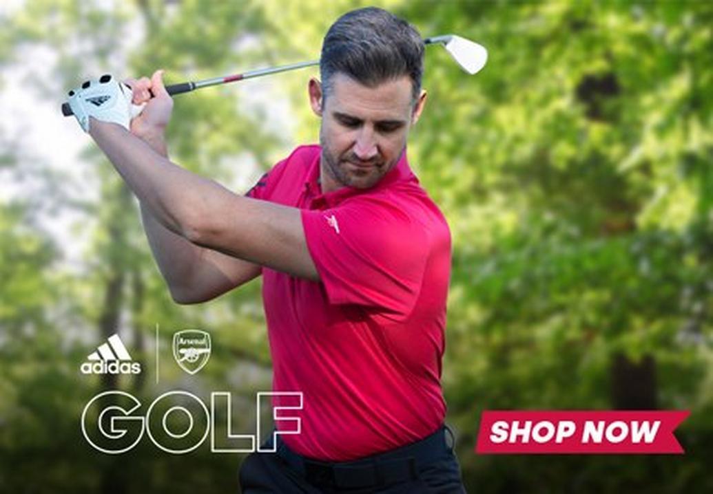 New Arsenal x adidas golf range