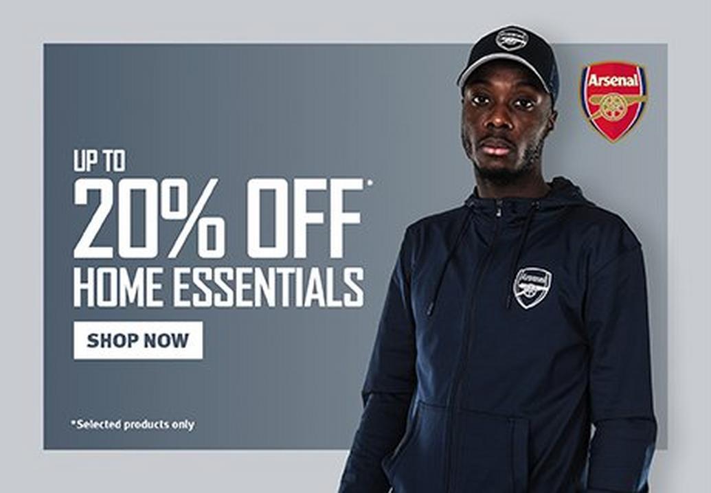 20% off home essentials