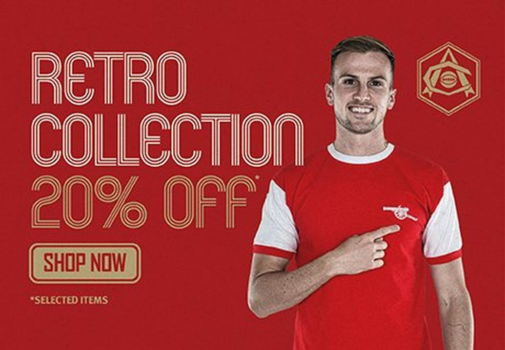 20% off the Retro collection