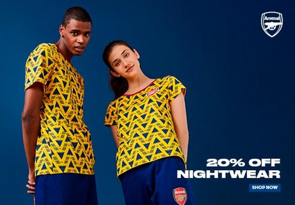 Arsenal nightwear