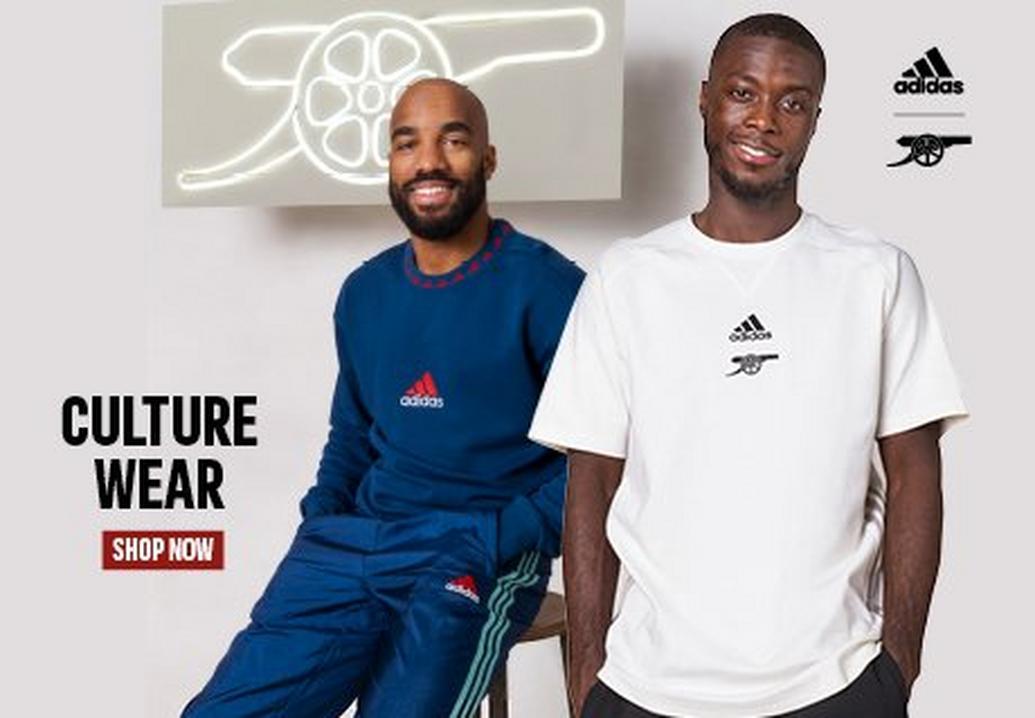 Arsenal adidas Culture Wear