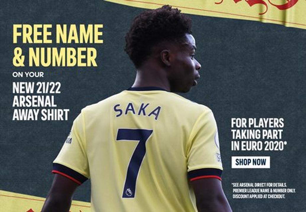 Free name & number printing