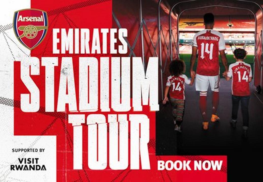 Book an Arsenal Emirates stadium tour