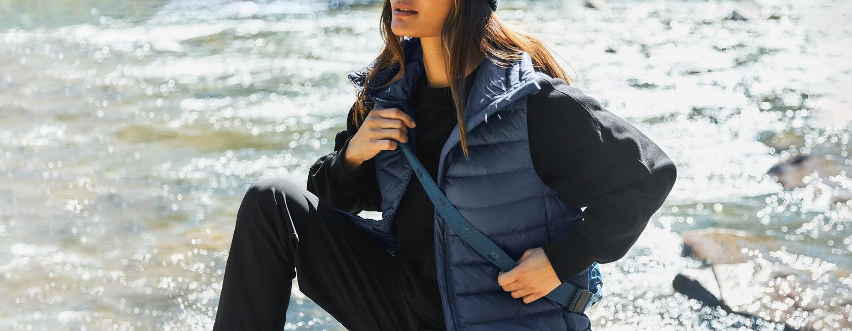 Get Out and Go - From trail to travel, explore more in our all-weather outerwear
