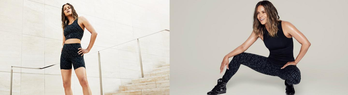 Halle Berry x Sweaty Betty - The re-spin edit