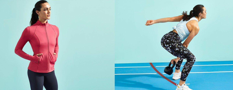 Das Fit Kit. Kombiniere Leggings, Top und Jacke + spare bis zu 65 € auf unsere Topseller