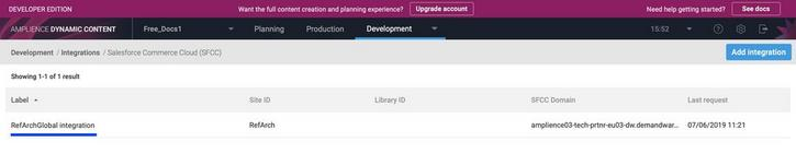 An integration is already set up for you, you just need to update some settings