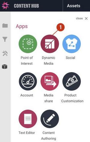 The Dynamic Media app.