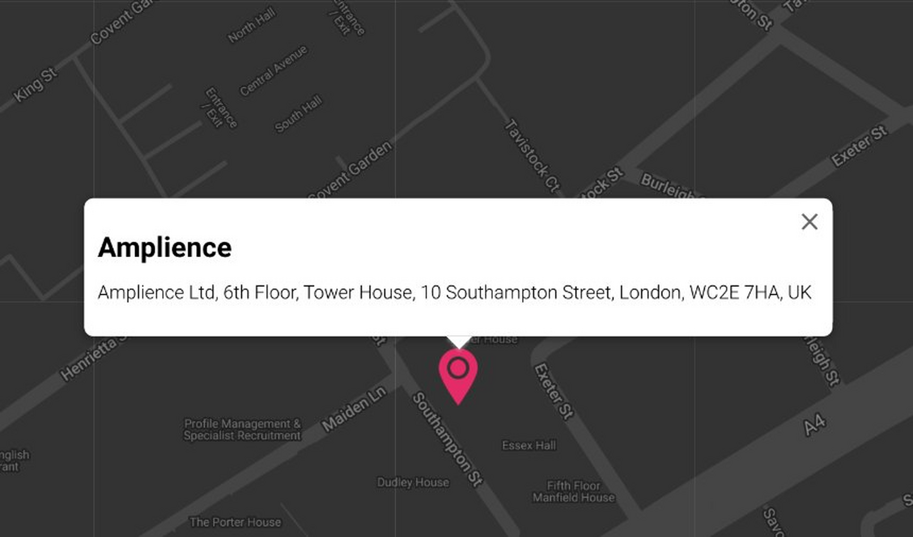 You can easily add a location to your content using the map extension.