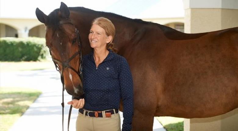 beezie madden with horse