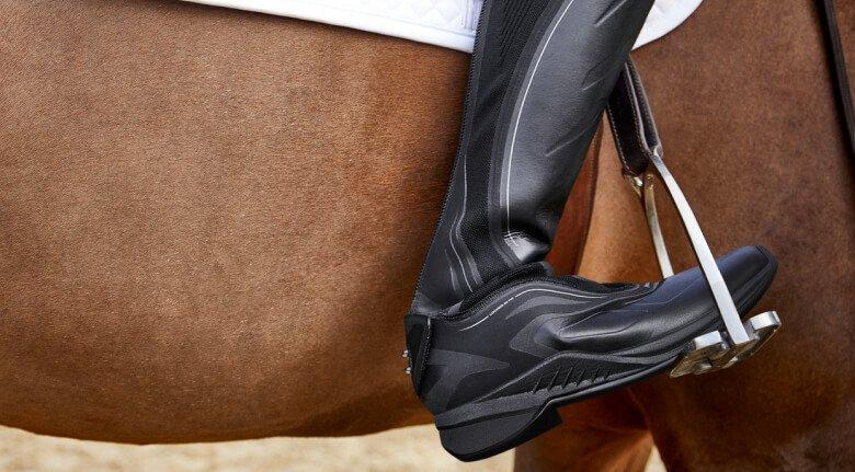 ariat ascent tall boot in stirrup
