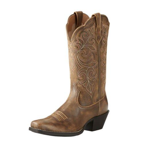 Round Up Square Toe Women's Western Boot