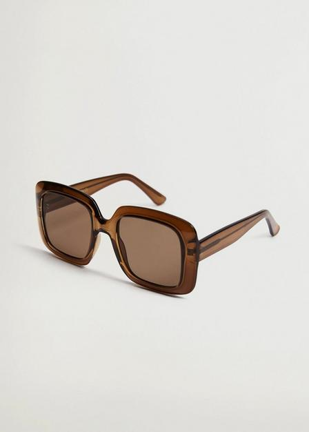 Mango - green Clear frame sunglasses, Women