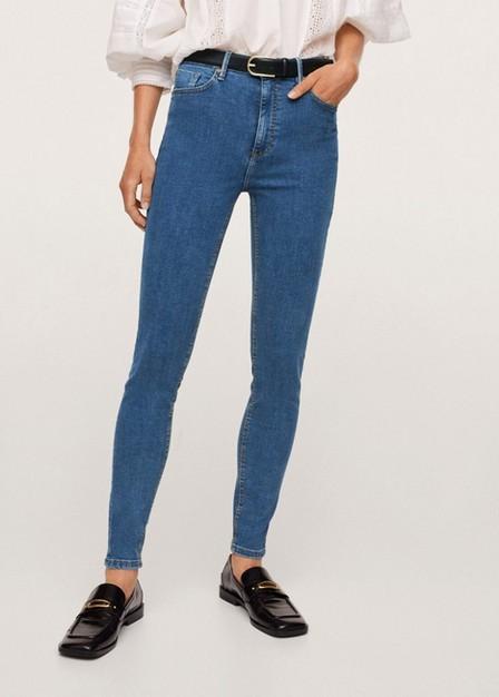 Mango - open blue Skinny Noa jeans, Women