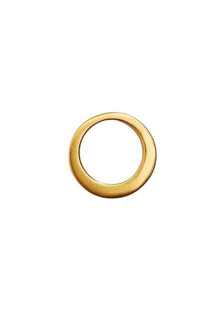 Mango - gold Asymmetric ring, Women