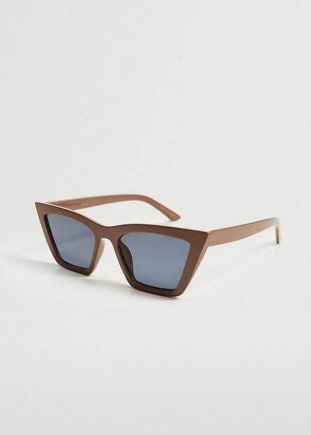 Mango - light beige Cat-eye sunglasses, Women