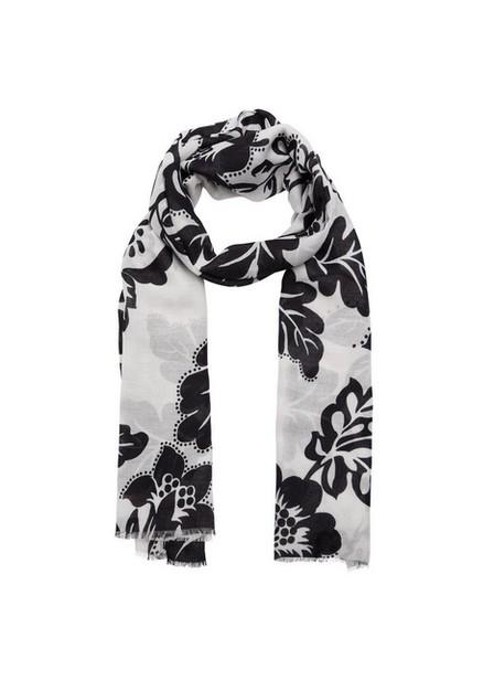 Mango - natural white Floral print scarf, Women