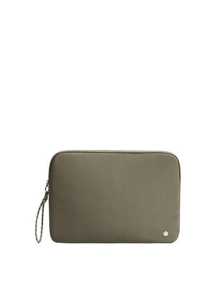 Mango - beige - khaki Padded laptop case, Women