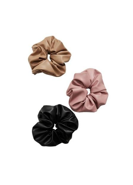 Mango - black Scrunchies 3 pack, Women