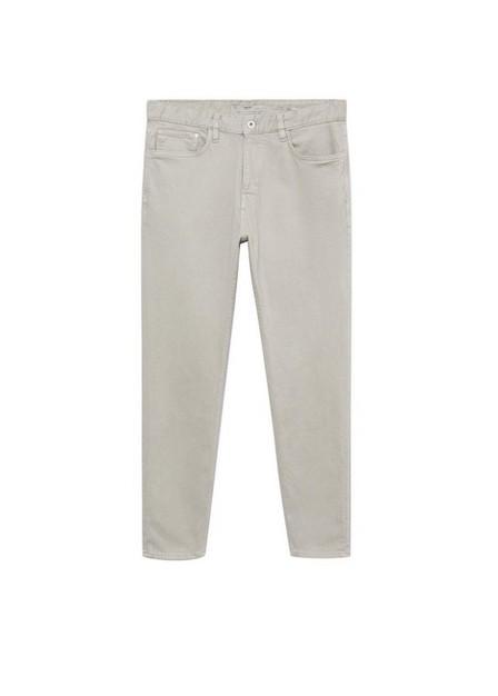 Mango - open grey Tapered-fit lyocell Tom jeans, Men