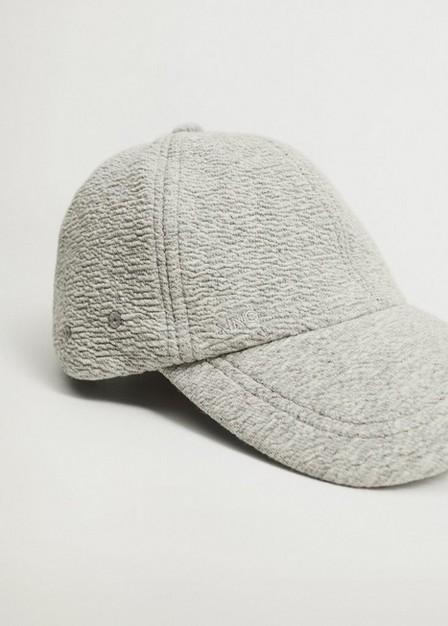 Mango - lt pastel grey Cap with visor, Women