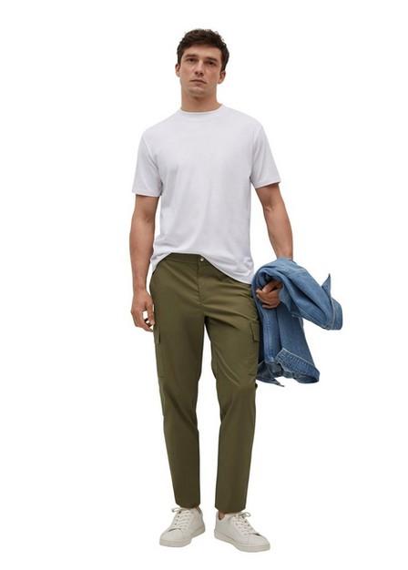 Mango - White Mercerised Regular-Fit  T-Shirt, Men