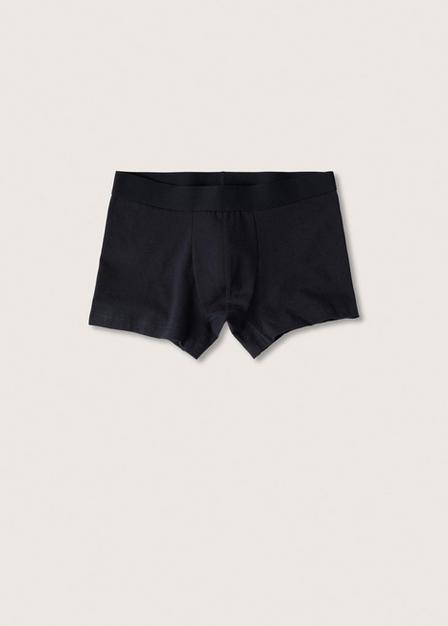 Mango - navy Basic boxer 2 pack, Men