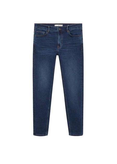 Mango - open blue Skinny dark wash Jude jeans, Men