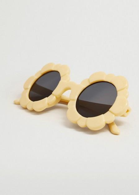 Mango - yellow Flower sunglasses, Kids Girl