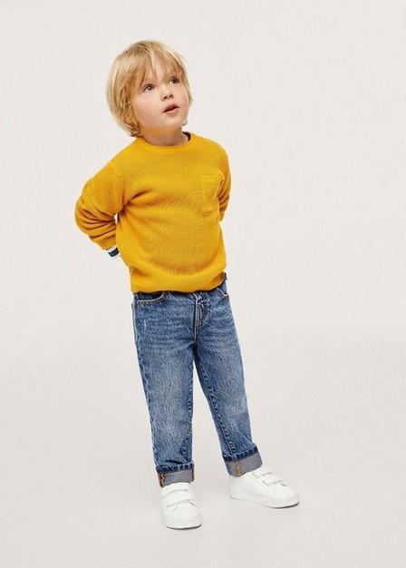 Mango - open blue Faded slim jeans, Baby Boy