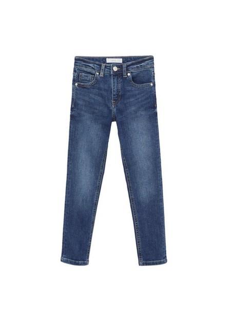 Mango - Open Blue Skinny Jeans, Kids Girl