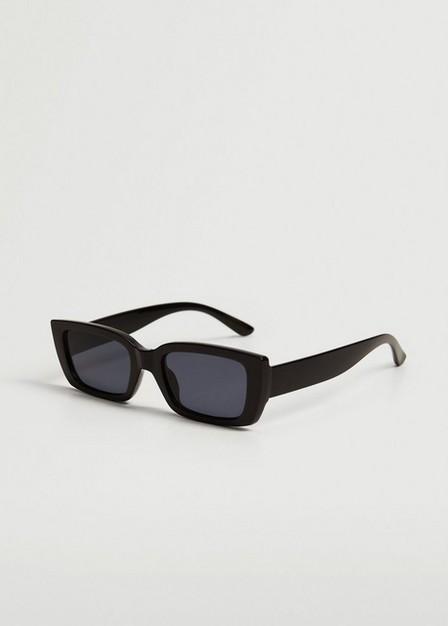 Mango - black Squared frame sunglasses, Women