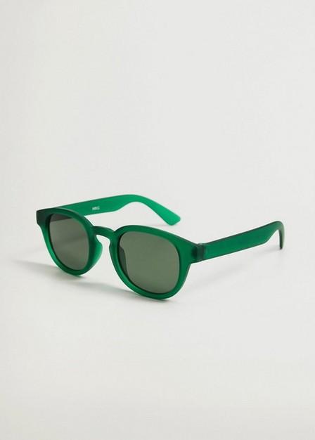 Mango - Green Acetate Frame Sunglasses, Kids Boy