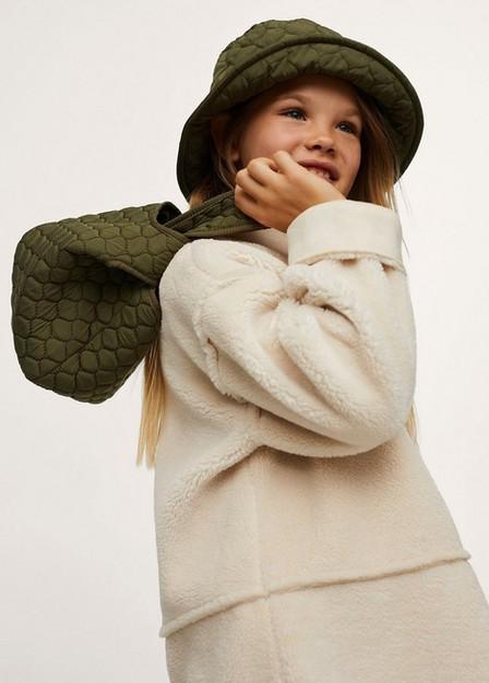 Mango - beige - khaki Quilted mini cross-body bag, Kids Girl