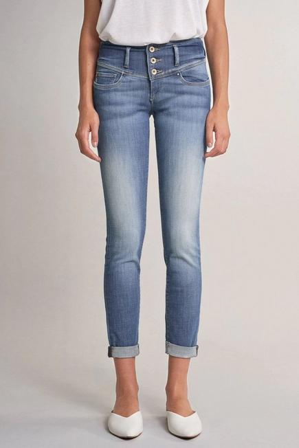 Salsa Jeans - Blue Mystery push up slim premium wash jeans