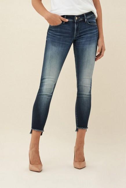 Salsa Jeans - Blue Push Up Wonder cropped premium wash jeans
