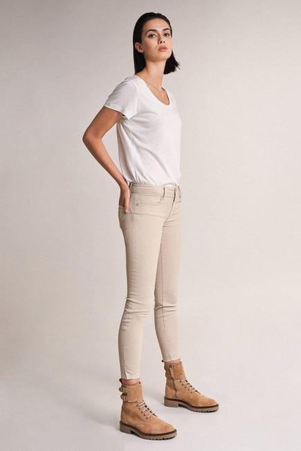 Salsa Jeans - Beige Push Up Wonder Capri Trousers, Women
