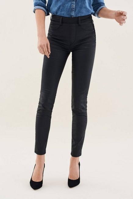 Salsa Jeans - Black Push In Secret Glamor Coated Skinny Jeans, Women