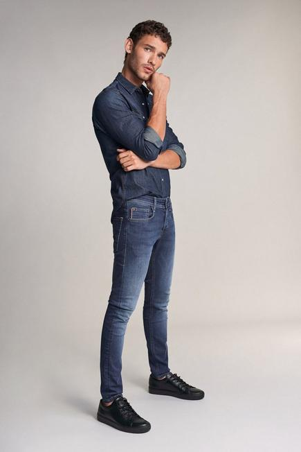 Salsa Jeans - Blue Skinny premium flex clash jeans dark