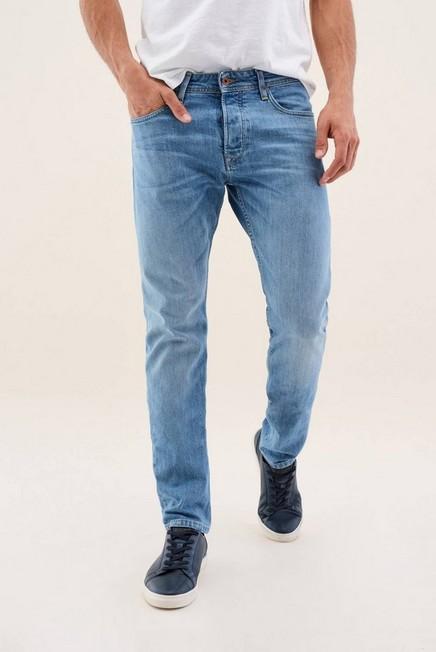 Salsa Jeans - Light Blue Lima Spartan Light Rinse Jeans, Men