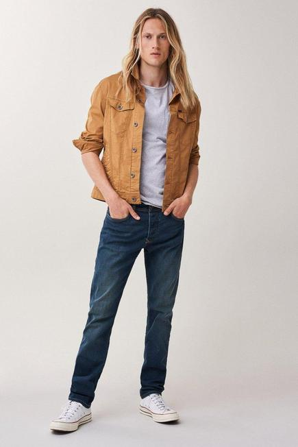 Salsa Jeans - Blue Slender slim carrot greencast jeans