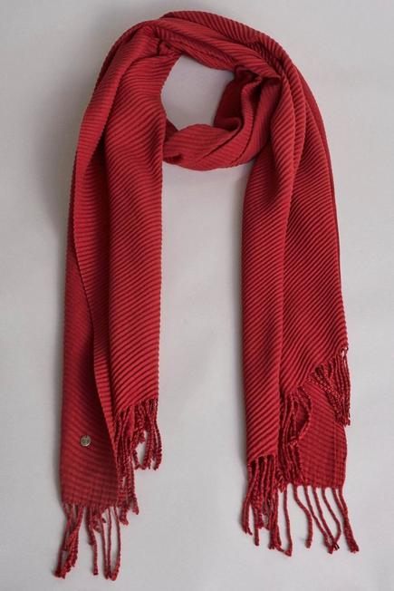 Salsa Jeans - Red Scarf with a ribbon