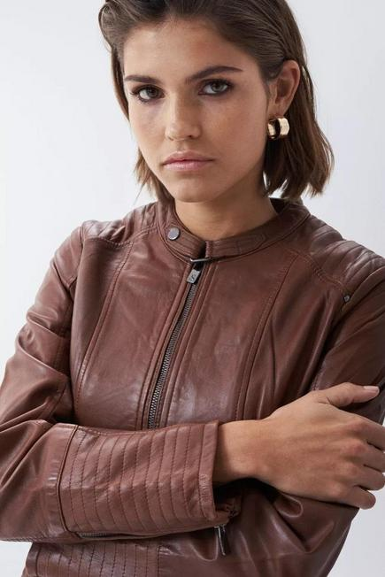 Salsa Jeans - Brown Leather jacket