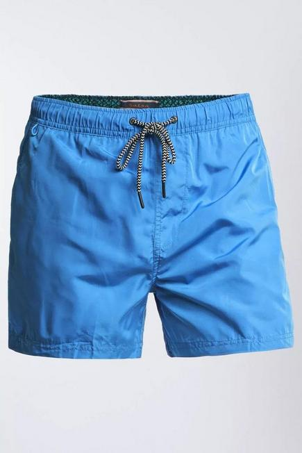 Salsa Jeans - Blue Swimshorts With Changeable Pattern, Men